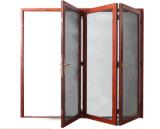 Алюминиевая дверь аккордеони экрана насекомого рамки