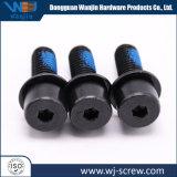 Nach Maß schwarze E-Beschichtung Kohlenstoffstahl-runde Schutzkappen-Kopf-Schraube