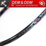 675mmカーボンスポーツ用品OEMの専門のバドミントンラケット