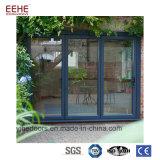 Portelli di piegatura di vetro di alluminio del perno dalla Cina