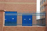 Шикарной зеленой декоративной загородка гальванизированная обеспеченностью стальная 64