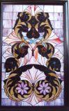 El patrón de arte Vitral de instrumentos