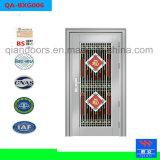 熱い販売および価格のステンレス鋼のSecrityのドアの金属のEnteranceの安いドア