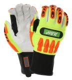 TPR Impact-Resistant Anti-Abrasion gant de travail La sécurité industrielle