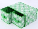 도매 포도 수확 직물은 서랍으로 보석 저장 상자를 덮었다