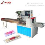 De industriële Machine van de Verpakking van de Stroom van de Omslag van het Voedsel van de Snack Horizontale Verpakkende