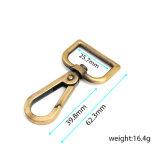 Hot Sale Mousqueton pivotant en métal pour collier de laisse Sac (HS6114)