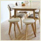 Gaststätte, die Schemel-festes Holz-Stuhl mit weichem PU-Deckel speist