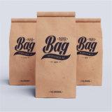 Imballaggio di plastica del rinforzo stampato sacchetto risigillabile della carta kraft dell'alimento