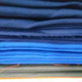 El poliéster Twill tejidos teñidos de color sólido de ropa de trabajo 250 gsm
