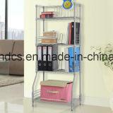 Ensemble de meubles en métal ajustable Porte-bagages à rayons avec roues
