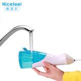 Agua recargable oral portable Flosser de Irrigator con color azul