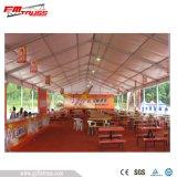 20x50m blanc tente pour grande exposition/foire/Afficher avec fenêtre claire