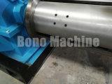 Machine pour dérouler la coupure et pour rebobiner les bobines non ferreuses de bande