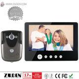 """Супер тонкий видео- телефон двери с 7 """" цифров LCD"""