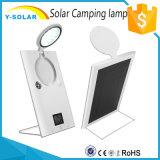 lampe campante solaire de 30LED Battery-8000mAh avec USB-5V/2A duel micro