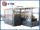 ケースの包装業者、側面のローディング(V-PAK)のためのケースの包装業者のまわりの覆い