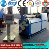4 rodillos lámina metálica hidráulica Máquina laminadora