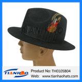 모직 펠트 파나마 넓은 테두리 중절모 남자 모자