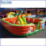 Da cidade inflável do divertimento do campo de jogos dos miúdos parque de diversões inflável