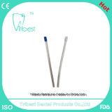 Eyector dental de la saliva de la curva de la flexión Bendable