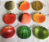 O Amor de Verão todos - 3D Melancia, frutos de Limão - 10cm Moeda de algodão pelúcia Bolsa & Wallet Bolsa Saco; bolsa de saco de moedas de bolso