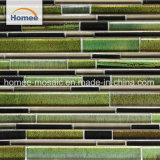 Enérgico y hermosos colores baldosas mosaico de vidrio baldosa mosaico de Dubai