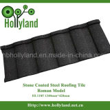 Building Material Stone Coated Steel Roofing Strips (Romance Type)