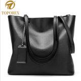 Sacchetto di cuoio delle donne dell'unità di elaborazione della spalla della signora New Fashion Tote Handbag