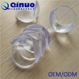 Protector de la esquina del PVC del vector del bebé plástico de cristal plástico respetuoso del medio ambiente del claro