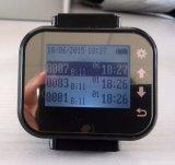 Matériel sans fil de pagineur de montre-bracelet d'émetteur interurbain appelle le système de son