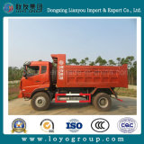 Sinotruk Cdw 190HP 10m3 덤프 트럭 4X2 쓰레기꾼 트럭