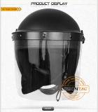 PC/ABSの物質的なISO標準の暴動のヘルメット(無光沢)