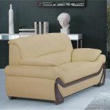 Melhor qualidade de mobiliário de sala de lazer em pele genuína sofá (A006)