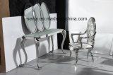 Muebles modernos de la sala de estar del vector de la lámpara de vector de extremo del vector de la cara del vector de consola del acero inoxidable