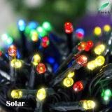 Luz feericamente psta solar de venda quente da corda do diodo emissor de luz 2017 para a decoração do jardim