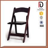 耐久の結婚式のイベント党使用の黒の折りたたみ椅子(BR-P096)
