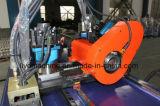Macchina piegatubi del servocomando di Dw75cncx2a-1s del tubo d'acciaio blu della motocicletta
