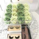 Nach Maß Acrylhochzeits-Blumen-Kasten mit Fach