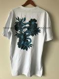 T-shirt personnalisé de coton pour les hommes