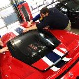 Supercar dedicó la película protectora de la pintura del coche del alto brillo