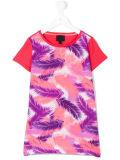 도매 형식 소녀의 다채로운 기털에 의하여 인쇄되는 t-셔츠