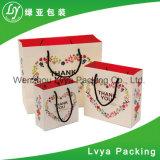 Het Winkelen Kraftpapier van de Ambacht van de Merknaam van de fabriek de Naar maat gemaakte Kosmetische Vouwbare Zakken van het Document