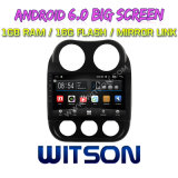"Witson 10.2 "" Jeep Compass를 위한 Big Screen Android 6.0 Car DVD"
