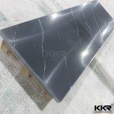 Surface solide de polyester blanc de matériau de construction pour le contre- dessus