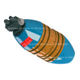 小さい直径の内部パイプラインClamper: 重量(クローラーを含まないため) 1.0kg