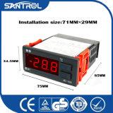 Controlador de temperatura do indicador do LCD do armazenamento frio