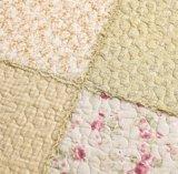 Modernes reines Baumwolldrucken-Plaid-waschbare Steppdecken