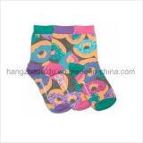 Klares Süßigkeit-Farben-Gleitschutzbaby-bequeme Socke