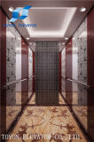 Calidad confiable Motoer que levanta el elevador del alzamiento de 2 de la tonelada de edificios materiales de la construcción